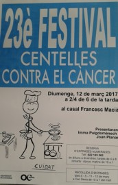23e Festival Centelles Contra el         Cancer (12-3-2017)