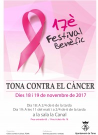 Cartell TONA contra CANCER