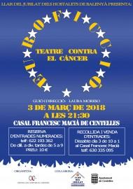 2018-CENTELLES CONTRA EL CANCER   Teatre