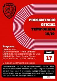 Presentació Club Atlètic Vic1