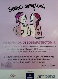 13a Jornada de Post mastectomia (3-5-2019)