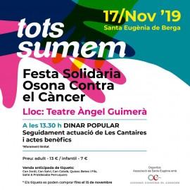 TOTS SUMEM Festa Solidaira Osona  Contra el Cancer a Santa Eugenia de Berga (17-11-2019)(1)